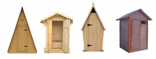 Как сделать двухскатную крышу на туалете. Крыша дачного туалета