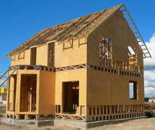 Построить дом из ОСБ своими руками. Каркасный дом из ОСБ: технология строительства