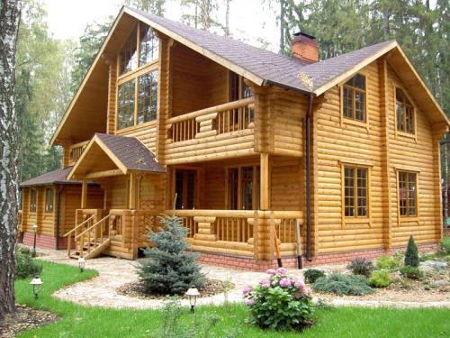 Из какого материала можно построить самый дешёвый дом. №1. Деревянный дом