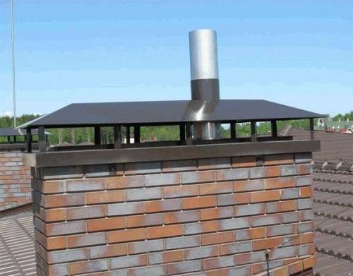 Проход трубы через крышу. Как обустроить проход трубы через крышу
