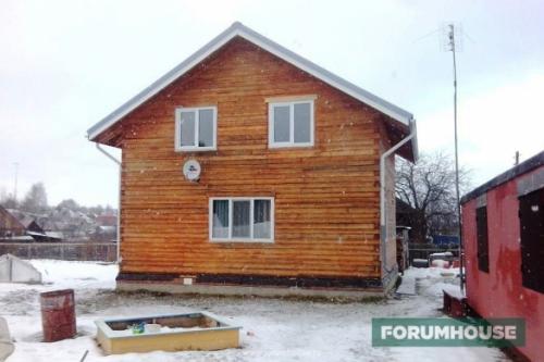 Утепление стен снаружи деревянного дома из бруса. Утепление брусового дома каменной ватой