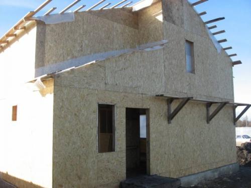 Строительство щитовых домов. Щитовое строительство: конструктивные особенности технологии
