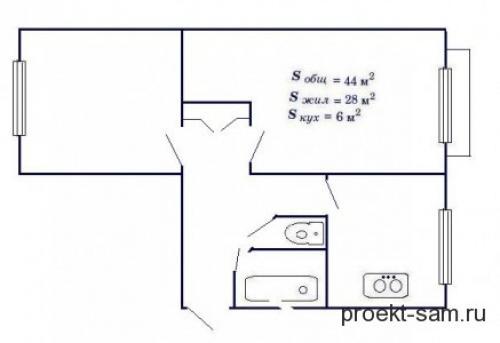 Типовые планировки двухкомнатных квартир. Особенности планировки двухкомнатной квартиры в панельном доме
