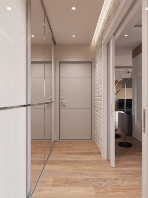 Оформление коридора маленького. Выбор дизайна коридора