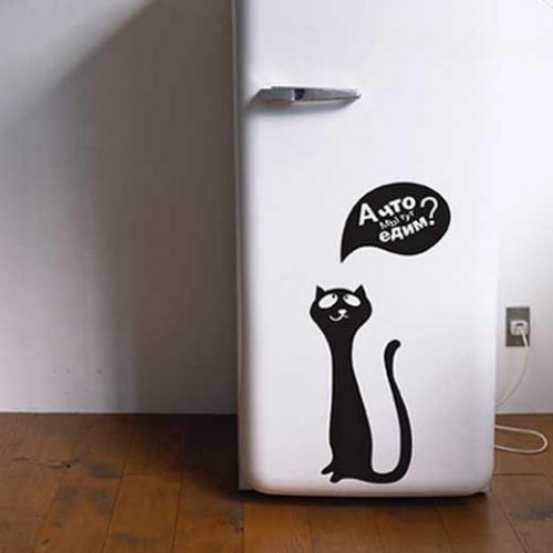 Как обклеить холодильник. Как выбрать плёнку для холодильника