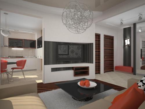 Ремонт 1 комнатной квартиры в панельном доме. Дизайн квартиры в панельном доме — основные принципы оформления интерьера (70 фото)
