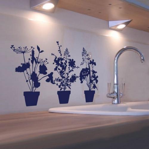 Рисование на стенах в квартире своими руками. Создаем красивые и простые рисунки на стенах в квартире