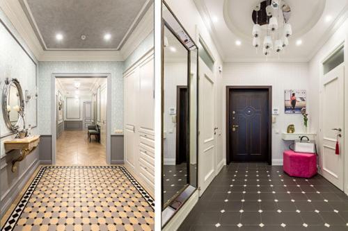Красивый ремонт в коридоре. Устройство надежного красивого и теплого пола
