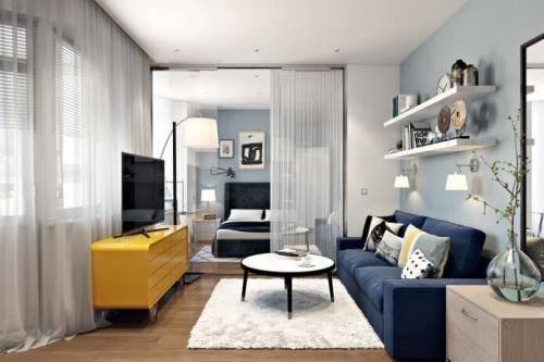 Идеи перепланировки однокомнатной квартиры в двухкомнатную. ВАРИАНТЫ ПЕРЕПЛАНИРОВКИ ОДНОКОМНАТНОЙ КВАРТИРЫ В ДВУХКОМНАТНУЮ