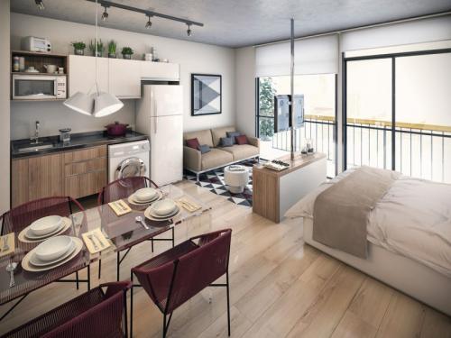 Стильный интерьер маленькой квартиры. Маленькие квартиры — 100 фото эксклюзивного дизайна современных и стильных интерьеров
