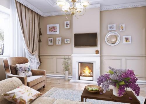 Ремонт в стиле прованс. Оформление разных комнат квартиры в стиле прованс