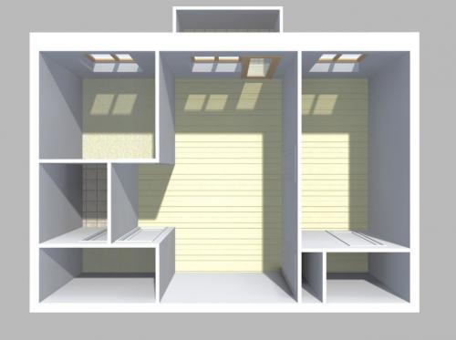 Перепланировка 3 комнатной хрущевки. Три варианта перепланировки двухкомнатной хрущевки
