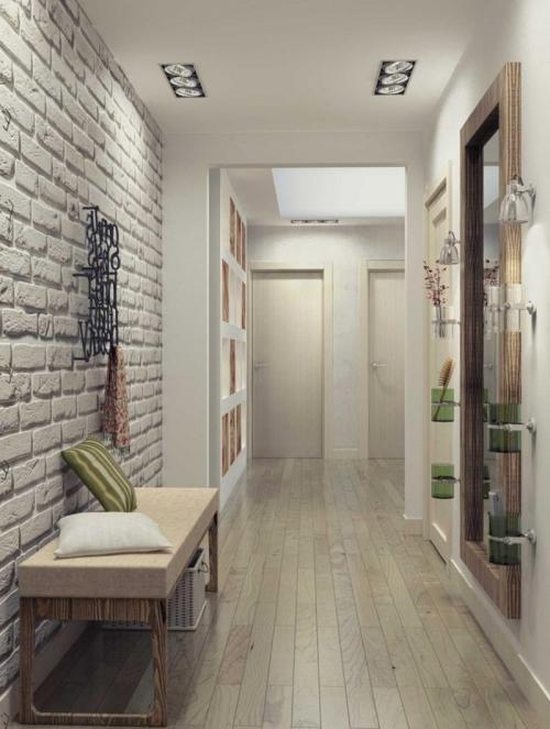 Ремонт узких коридоров в квартире. С чего начать?