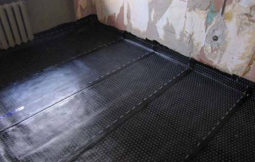 Утеплитель для пола по бетону. Минеральной ватой по лагам