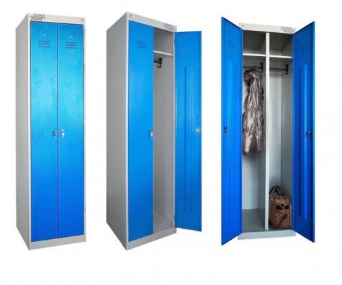 Шкафчики для переодевания металлические. Обзор металлических шкафов в раздевалку, правила выбора